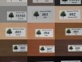 wzornik żaluzj drewnianych